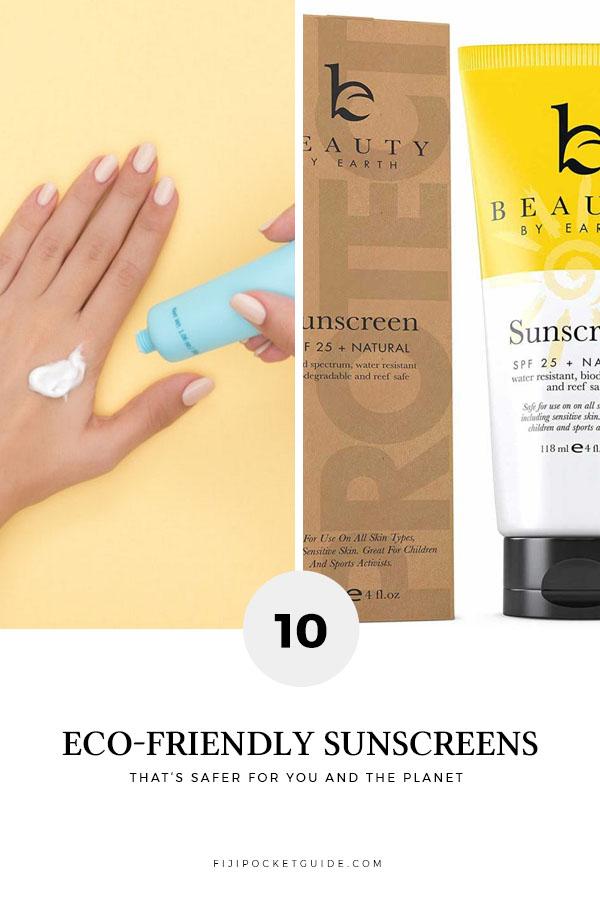 10 Best Environmentally-Friendly Sunscreens