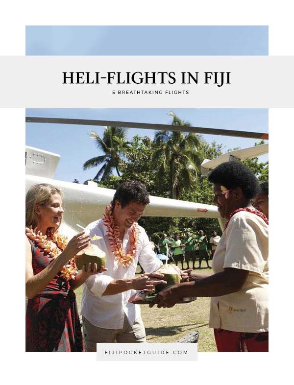 5 Breathtaking Scenic Flights by Helicopter in Fiji