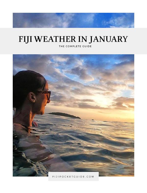 Fiji Weather in January
