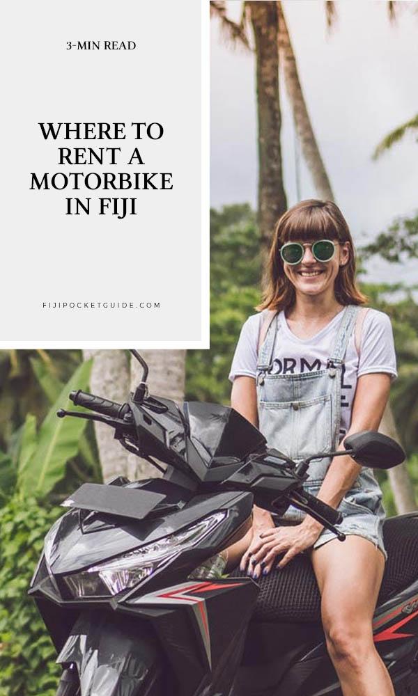 Where to Rent a Motorbike in Fiji