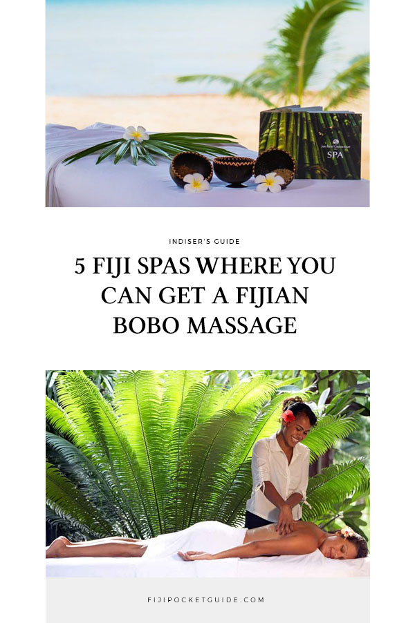 5 Fiji Spas Where You Must Try the Fijian Bobo Massage