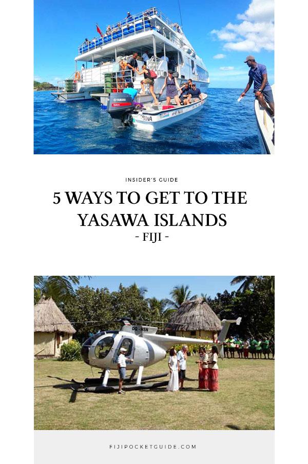 5 Ways to Get to the Yasawa Islands