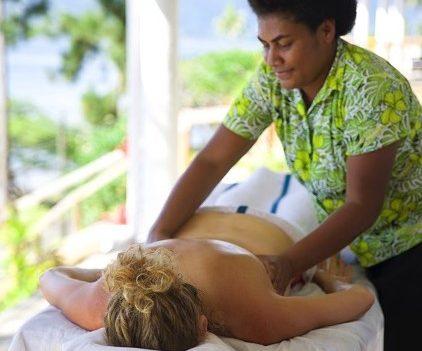 Fijian bobo massages