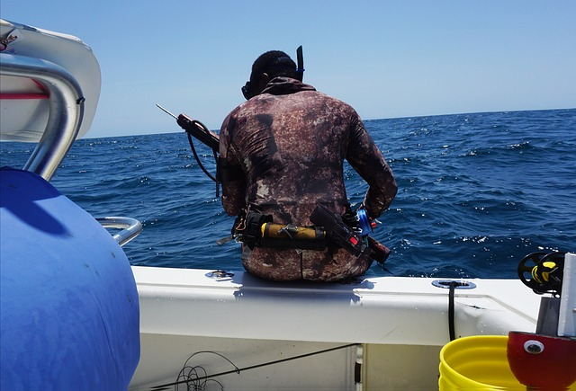 Spearfishing in Fiji