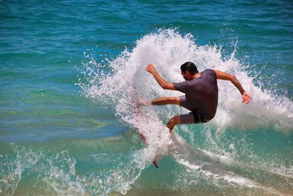 surfs spots on the coral coast