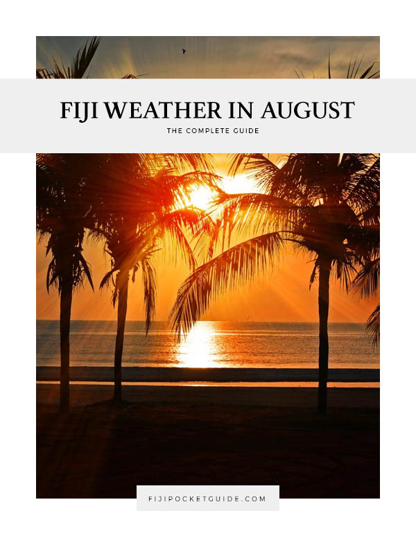 Fiji Weather in August