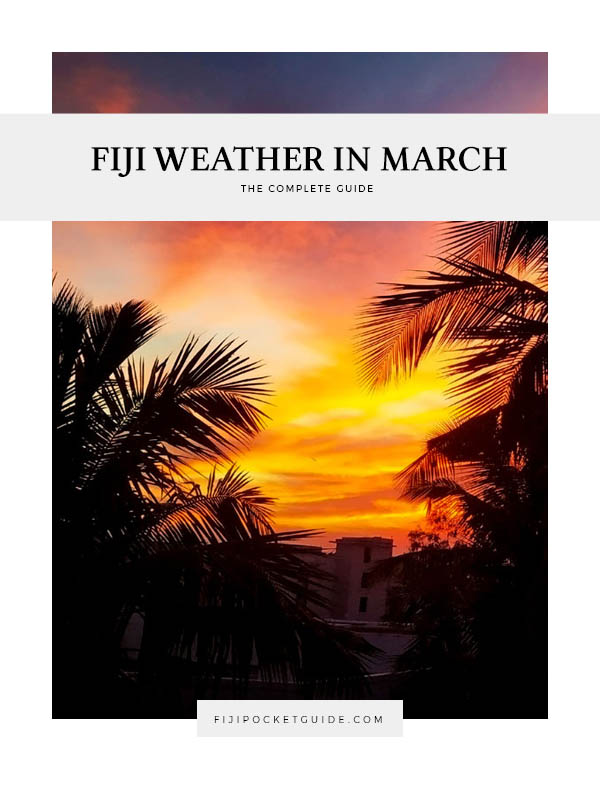 Fiji Weather in March