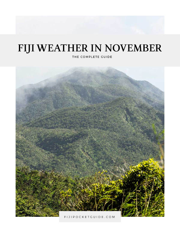 Fiji Weather in November