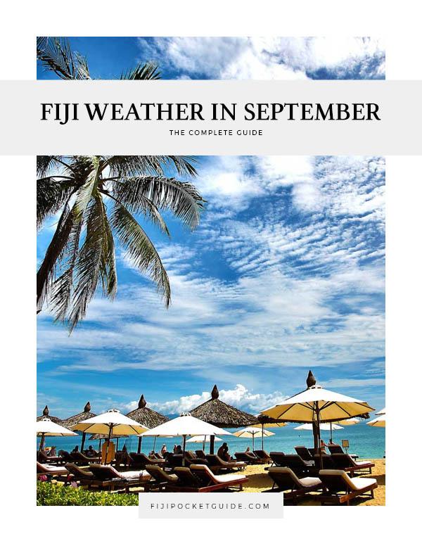 Fiji Weather in September