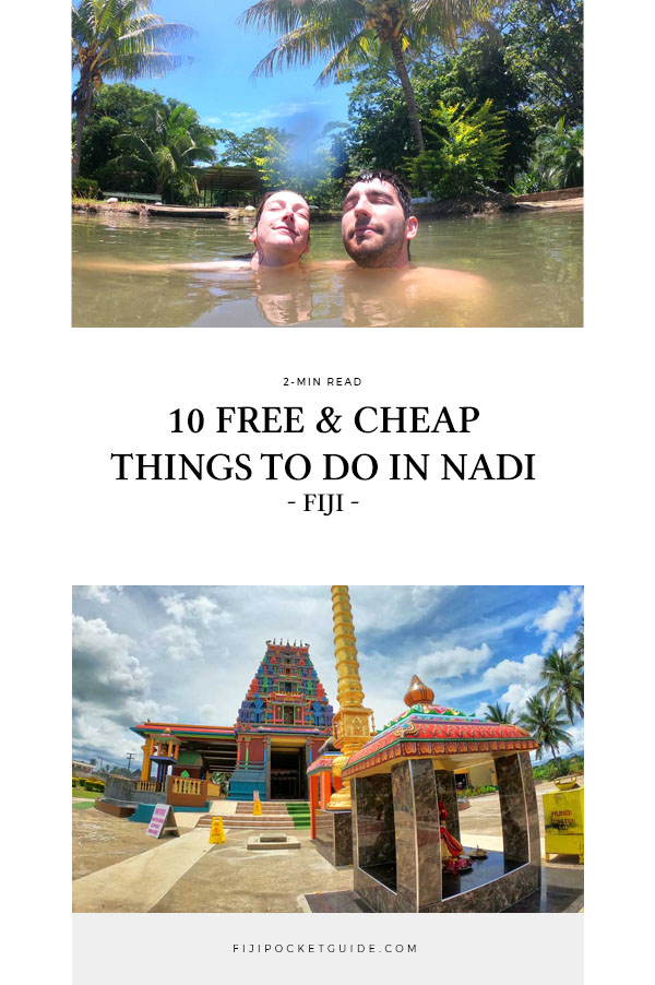 10 Free & Cheap Things to Do in Nadi