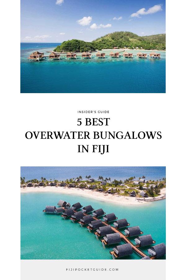5 Best Overwater Bungalows in Fiji