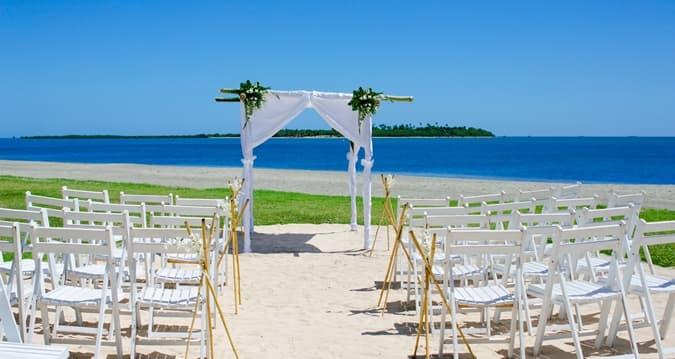 wedding and honeymoon resort on denarau island