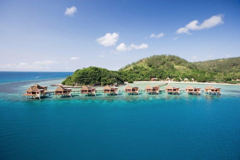 fiji overwater bungalows