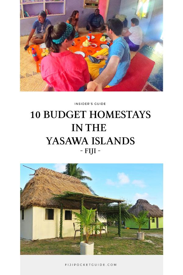 10 Best Budget Homestays in the Yasawa Islands