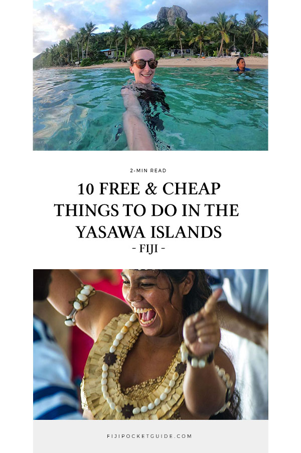 10 Free & Cheap Things to Do in the Yasawa Islands