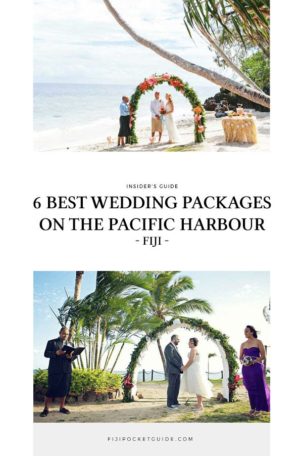 6 Best Wedding Packages on the Pacific Harbour & Beqa