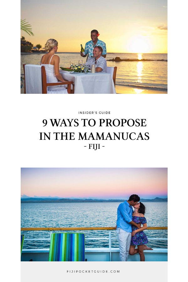 9 Ways to Propose in the Mamanuca Islands