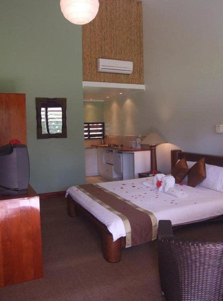 foodie accommodation fiji pacific harbour