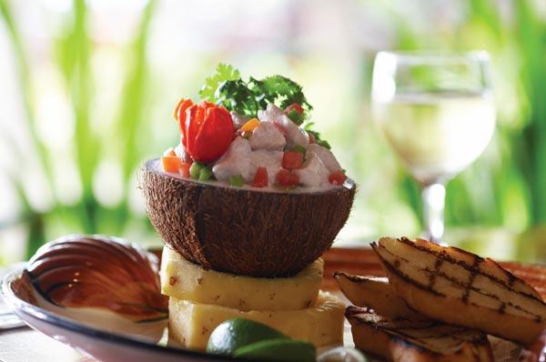 restaurants on the coral coast