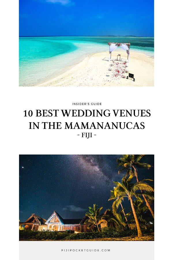 10 Wedding Venues in the Mamanuca Islands