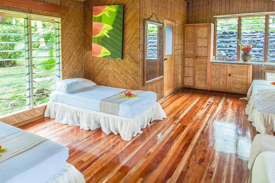 family fiji taveuni accommodation