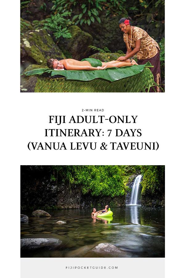 Fiji Adult-Only Itinerary: 7 Days (Vanua Levu & Taveuni)