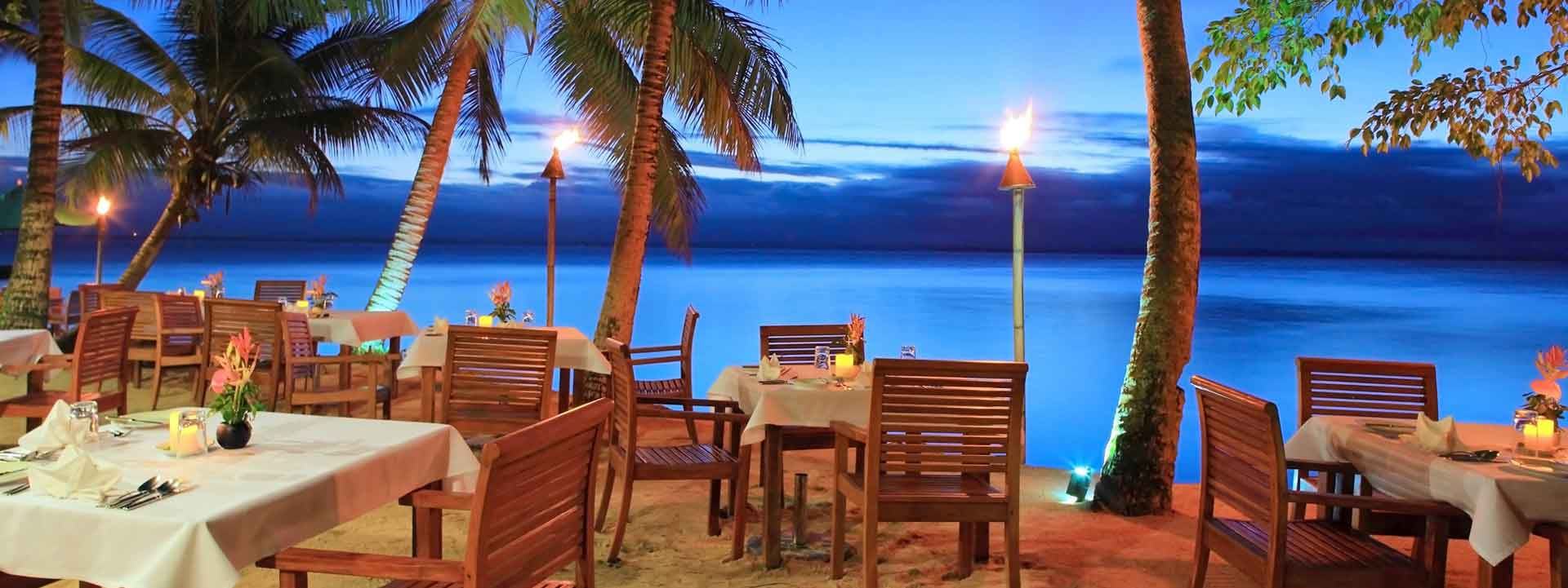 HEADER accommodation in the Lomaivit Islands for foodies Credit Toberua Island Resort