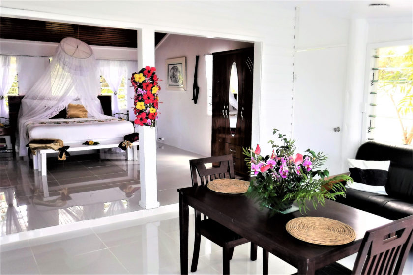 foodie accommodation on taveuni