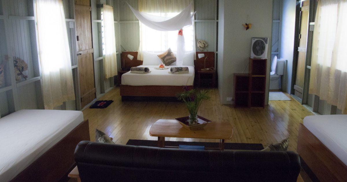 family accommodation kadavu Credit Mai Dive Astrolabe Reef Resort