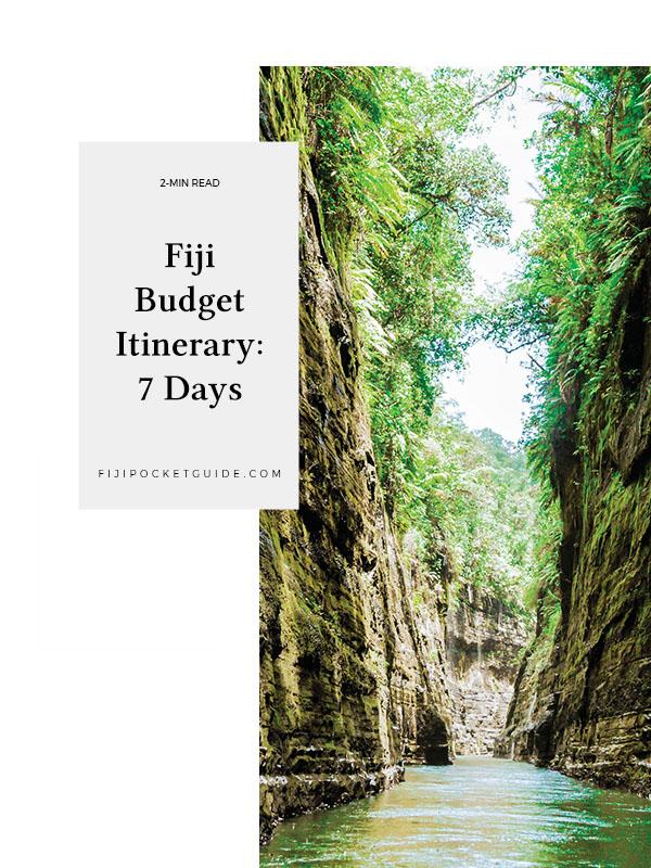 Fiji Budget Itinerary: 7 Days