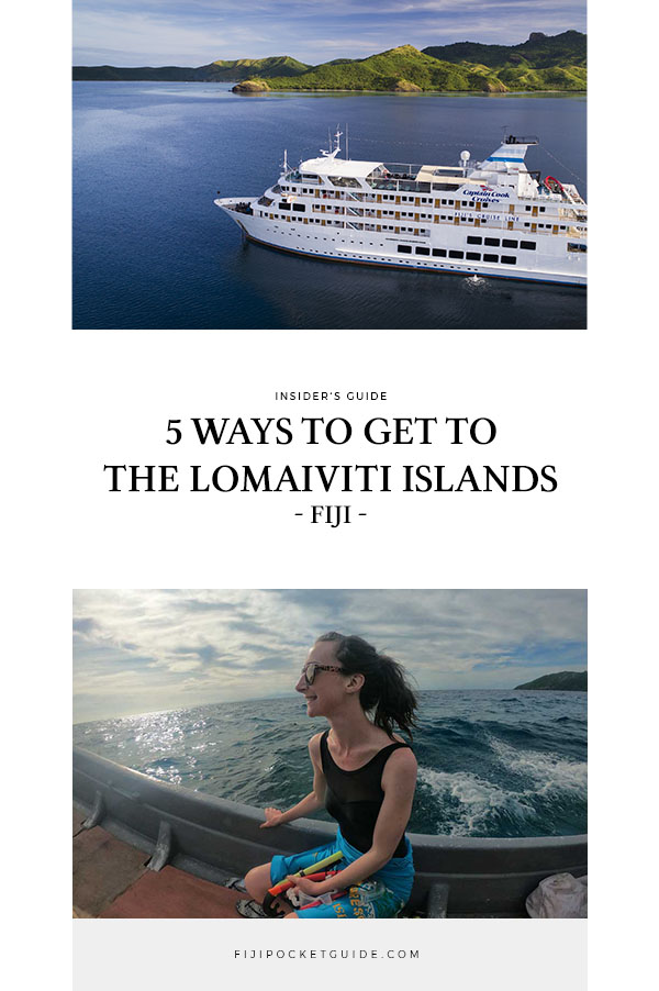 5 Ways to Get to the Lomaiviti Islands