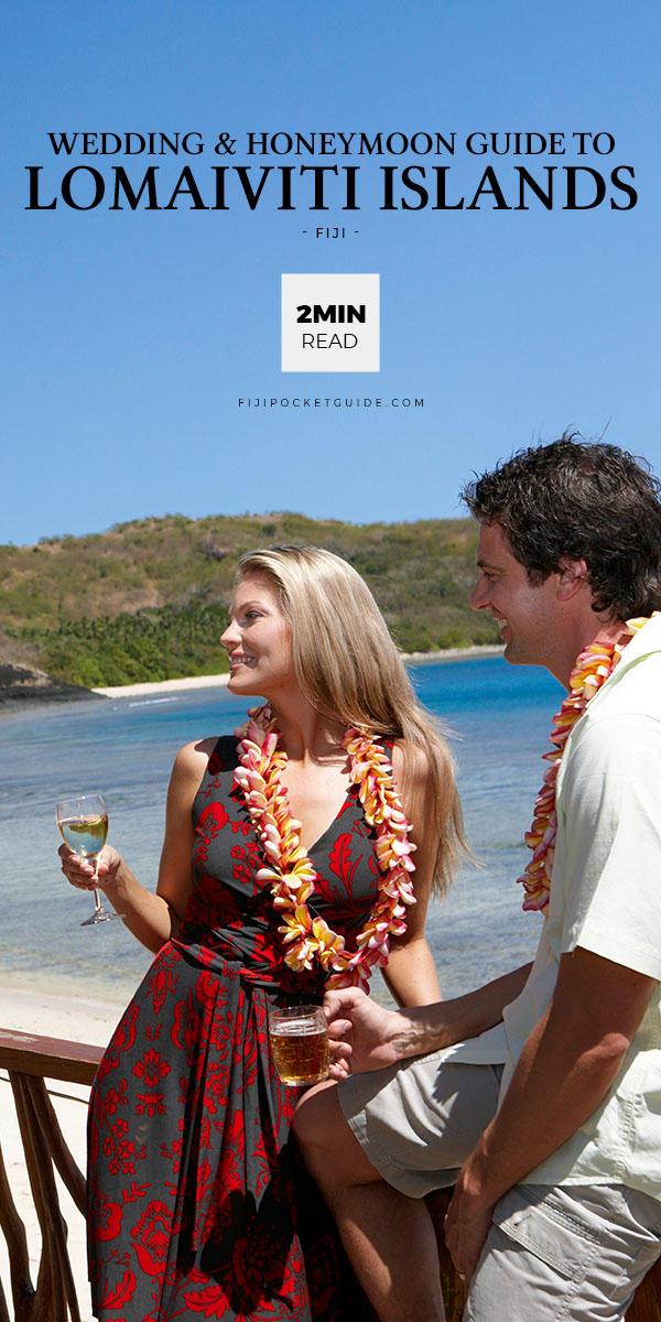 The Wedding & Honeymoon Guide to the Lomaiviti Islands