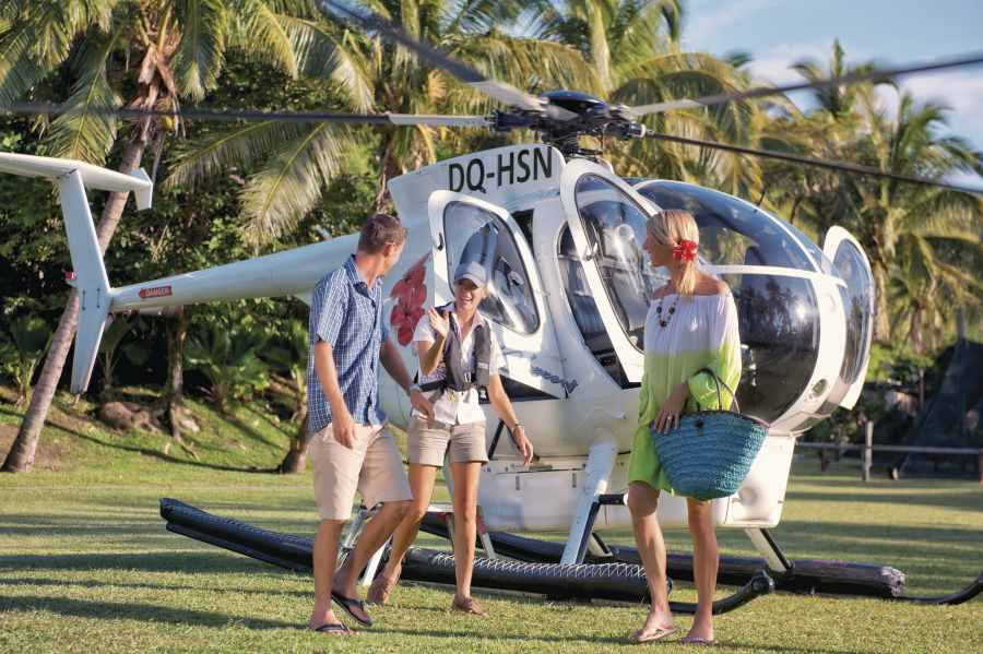 Helicopter Vs. Seaplane for Island Transfers in Fiji