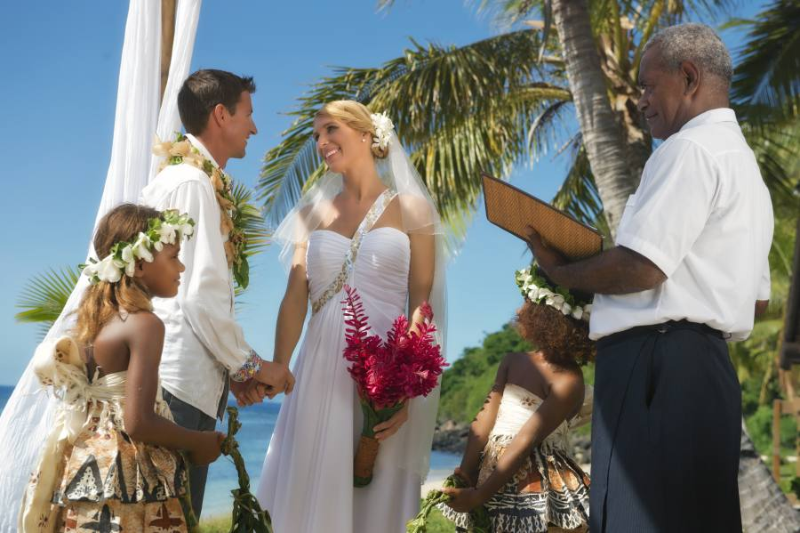 Marriage requirements for tourists in Fiji