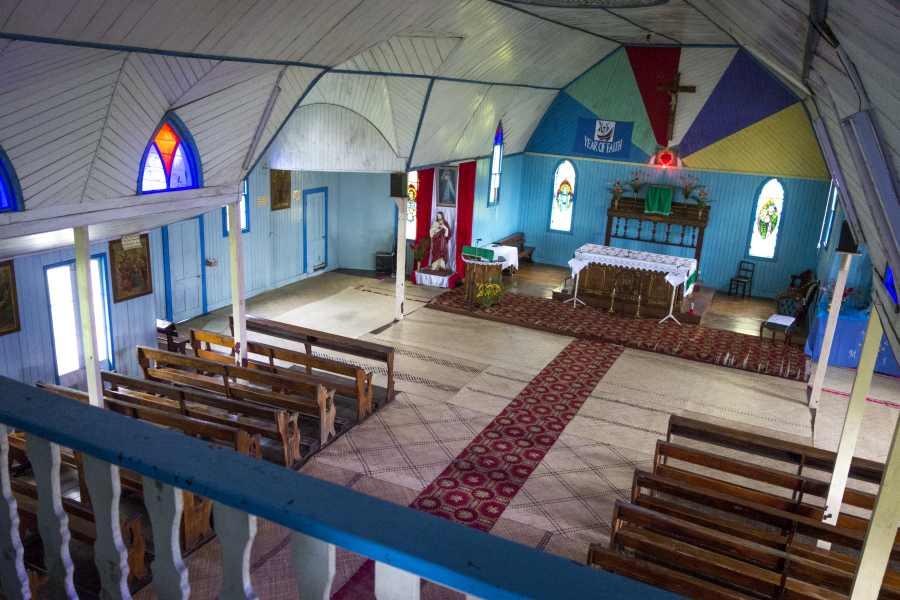 Colonial Levuka Church Small Mandatory Credit Captain Cook Cruises