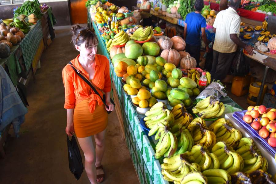 What is the cost of food shopping in Fiji