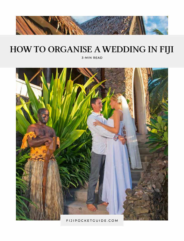 How to Organise a Wedding in Fiji