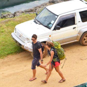Hitchhiking in Fiji