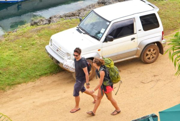 Hitchhiking in Fiji