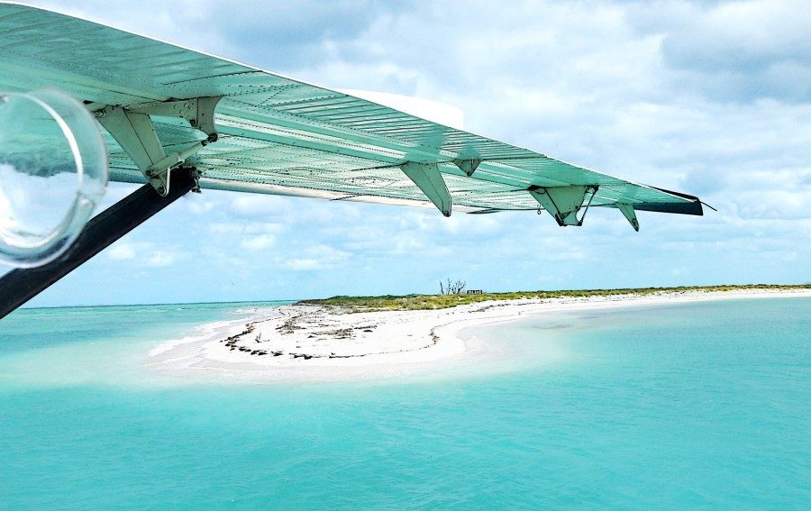 Seaplane Wing Over Island Pixabay Small