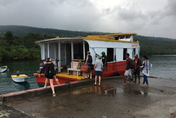 How to Take the Ferry to Taveuni