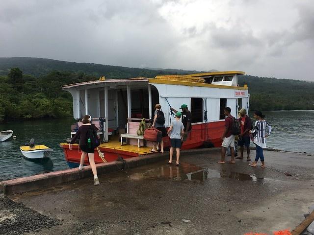 How to Take the Ferry to Taveuni