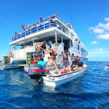 The Guide to Travelling in Fiji by Ferry